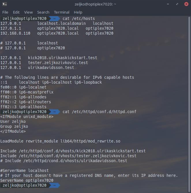 Multiple hosts in Apache (httpd) problem - Solus Forum
