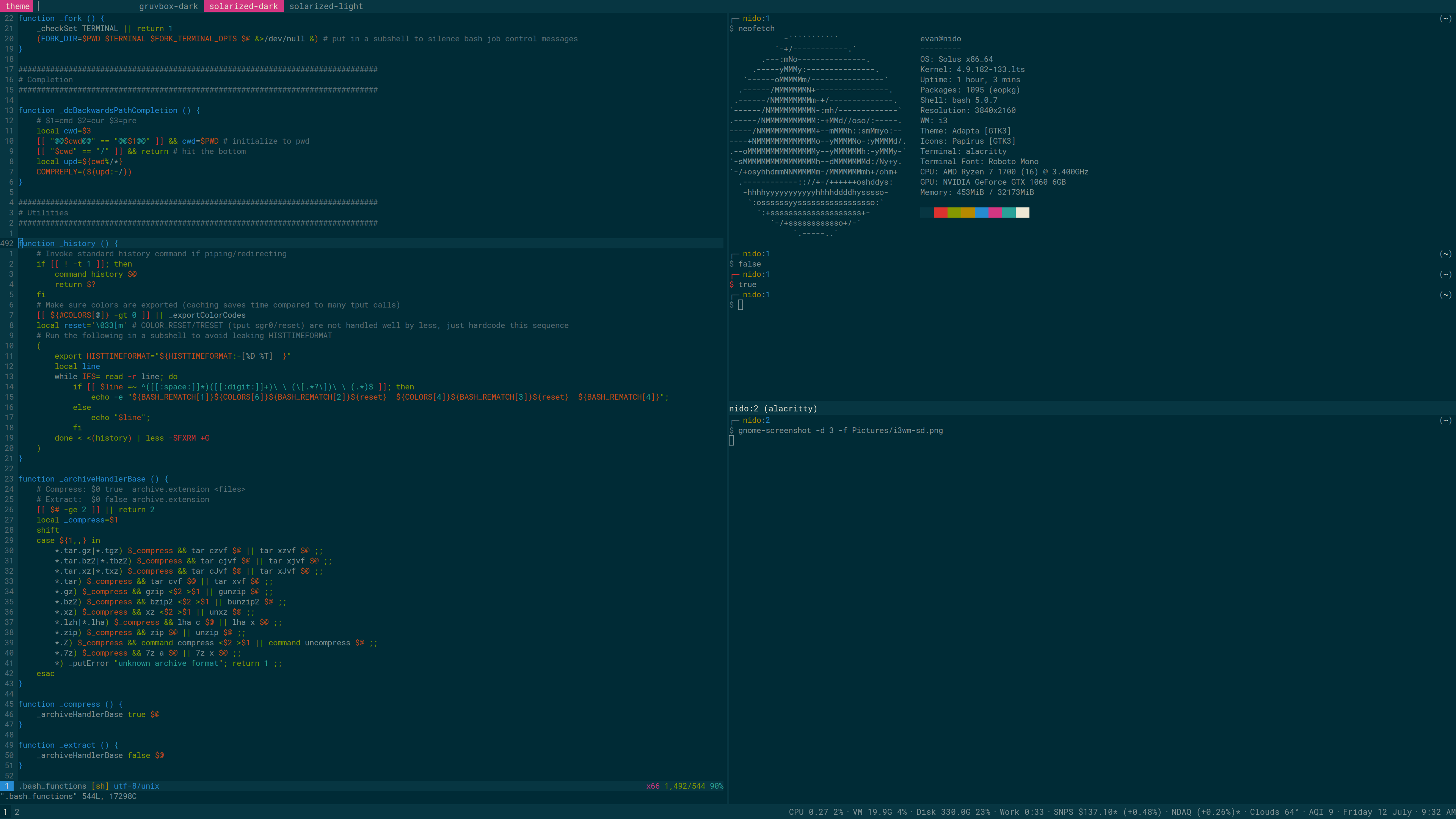 What's your favourite terminal emulator? - Solus Forum
