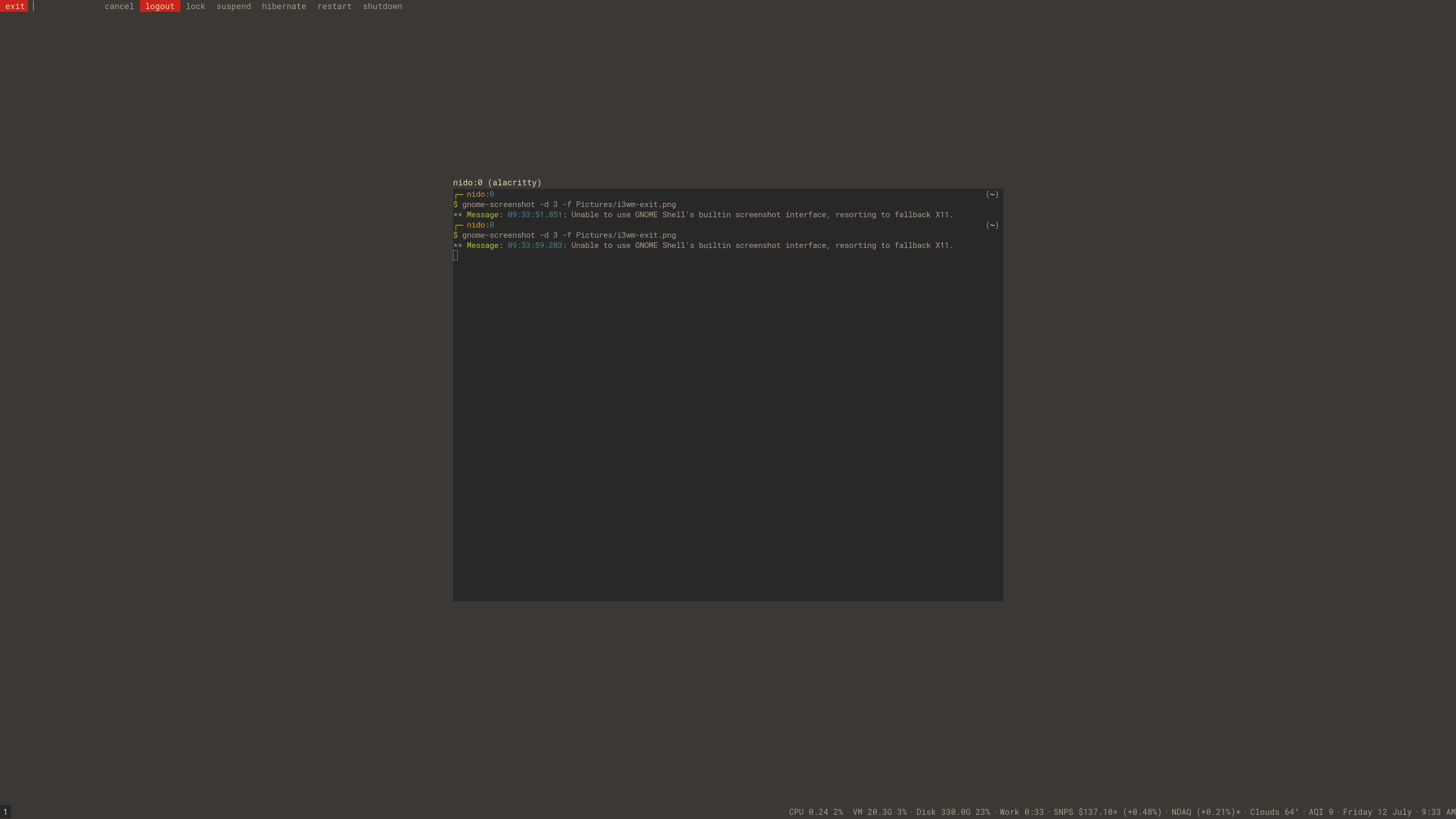 What's your favourite terminal emulator? - Solus Forum