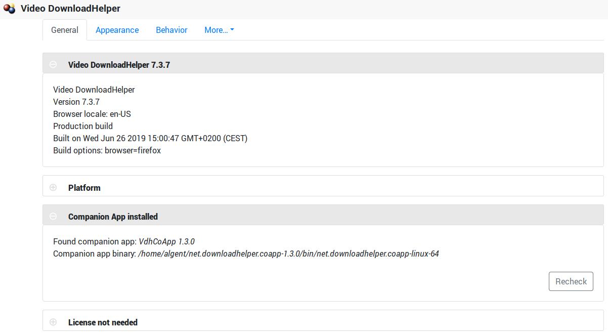 vdhcoapp / companion app download helper - Solus Forum